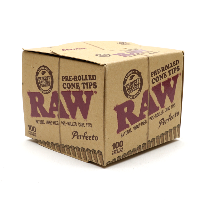 RAW Perfecto Pre-rolled Tips 100 Count