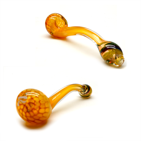 "Pulsar Honey 6"" Gandalf Hand Pipe"