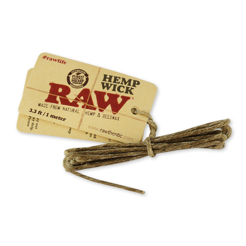 RAW Hemp Wick - 1 Meter
