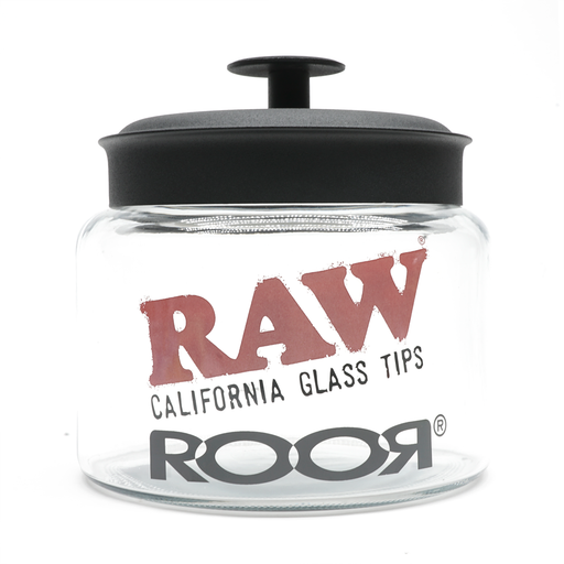 RooR x RAW Glass Jar