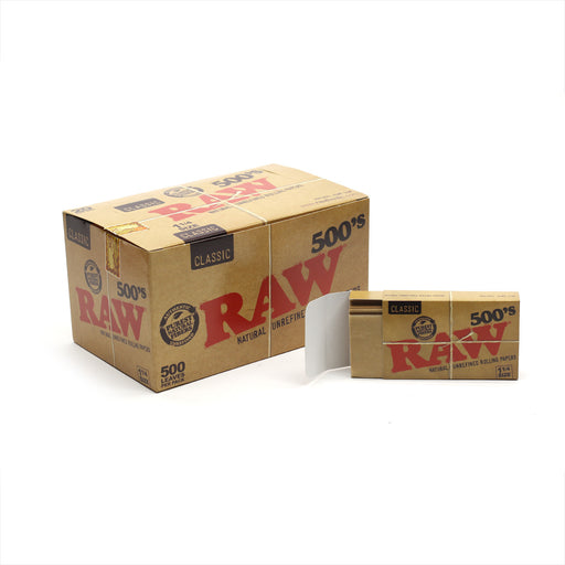 RAW 500 Rolling Papers