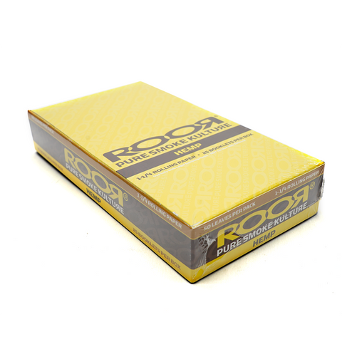 RooR Hemp 1 1/4 Rolling Papers