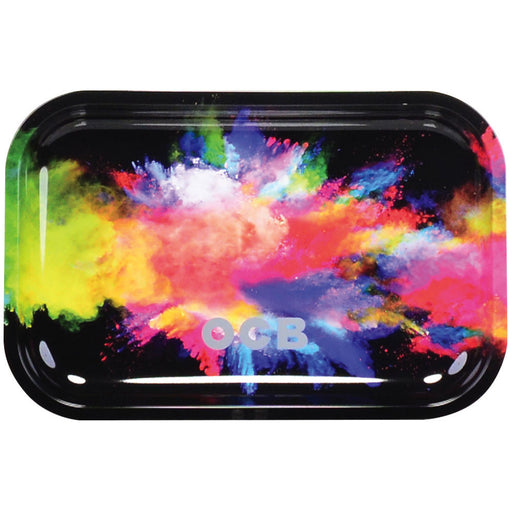 OCB® Metal Rolling Tray 'Holi' - 3 Sizes