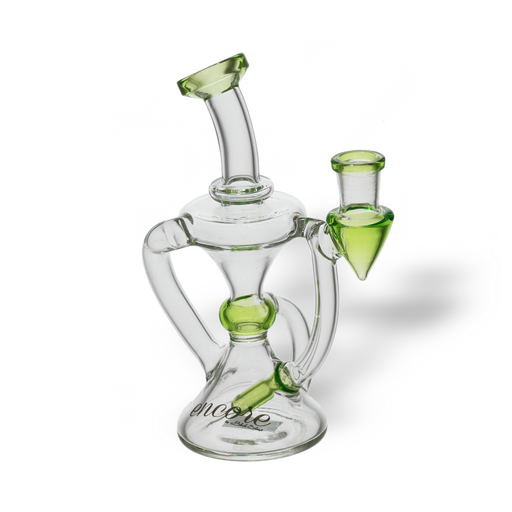 Encore Glass Sublime 14mm Recycler Dab Rig