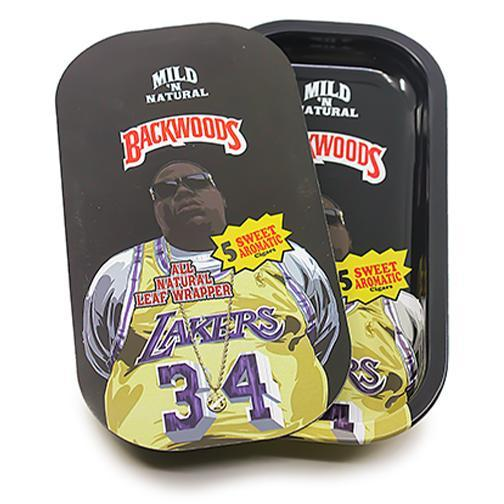 Metal Rolling Tray w/ Magnetic Lid - Big Laker