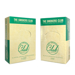 The Smokers Club Hemp Rolling Papers