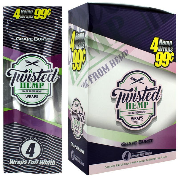 Twisted Hemp All Natural Wraps