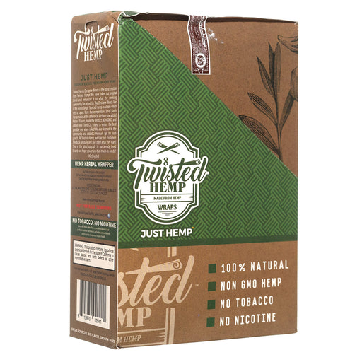 "Twisted Hemp ""Just Hemp"" Hemp Wraps"