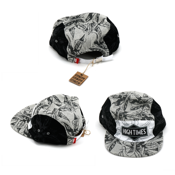 High Times 5 Panel - White/Black