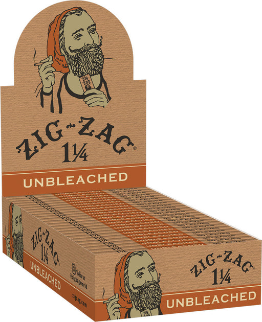 Zig Zag Unbleached Rolling Papers - 1 1/4
