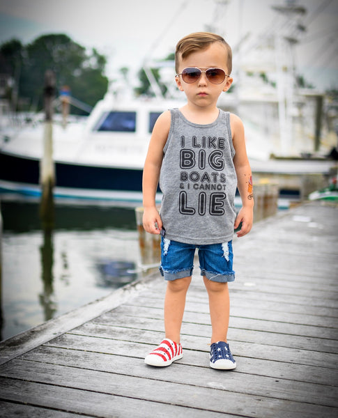 I LIKE BIG BOATS I CANNOT LIE | Raxtin Clothing Co - Love Sick Threads