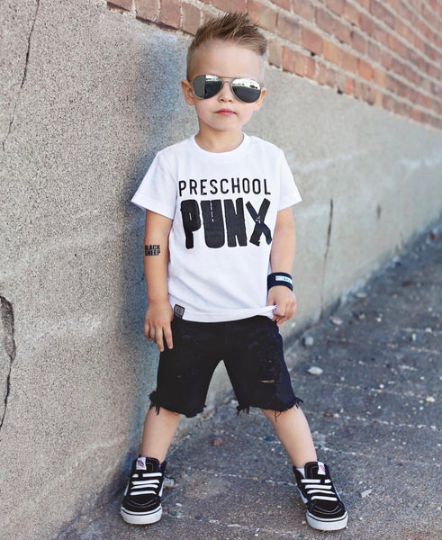 PRESCHOOL PUNX KIDS T SHIRT | Raxtin Clothing Co - Love Sick Threads