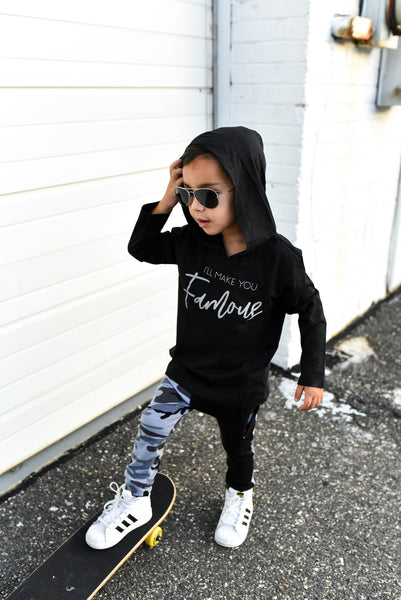 I'LL MAKE YOU FAMOUS UNISEX  KIDS SHIRT | Raxtin Clothing Co