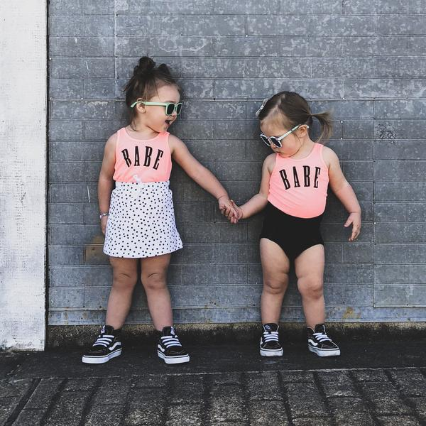BABE UNISEX KIDS TANK TOP | Raxtin Clothing Co - Love Sick Threads