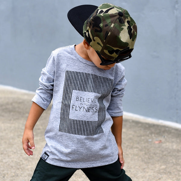BELIEVE IN YOUR FLYNESS UNISEX  KIDS T SHIRT | Raxtin Clothing Co