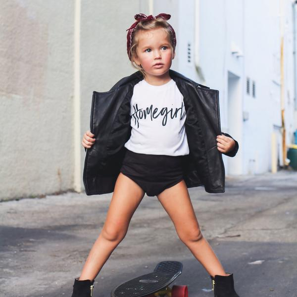 HOMEGIRL KIDS T SHIRT | Raxtin Clothing Co - Love Sick Threads