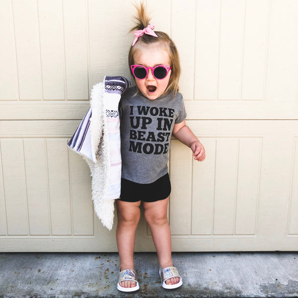 WOKE UP IN BEAST MODE UNISEX KIDS T SHIRT | Raxtin Clothing Co - Love Sick Threads