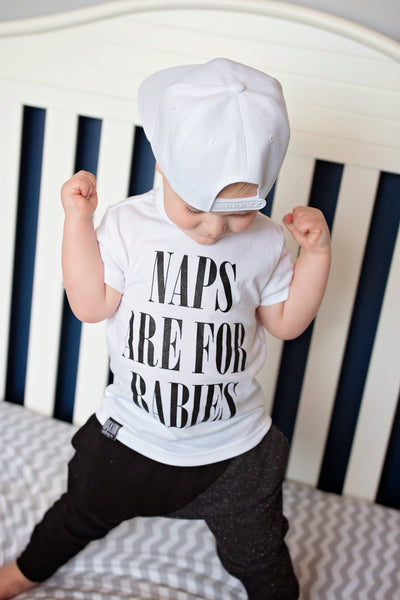 NAPS ARE FOR BABIES UNISEX KIDS T SHIRT | Raxtin Clothing Co - Love Sick Threads