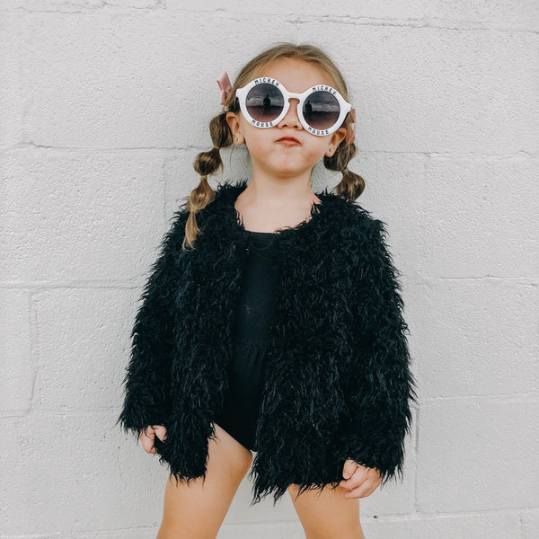 KIDS FAUX FUR COAT | Raxtin Clothing Co - Love Sick Threads