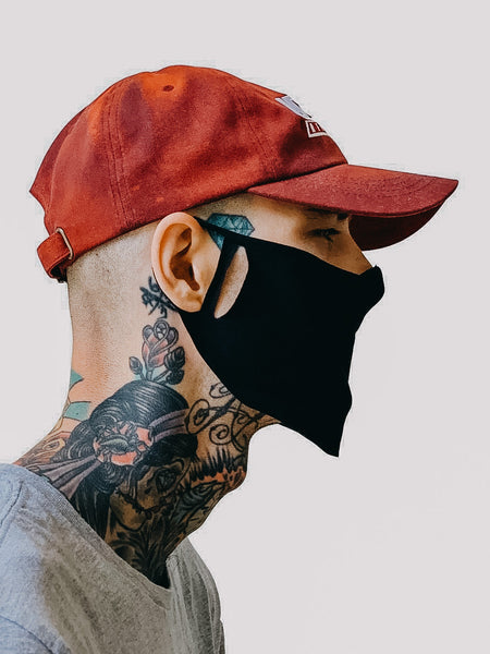 "RAXTIN ""tattoo"" FACE COVER - Love Sick Threads"