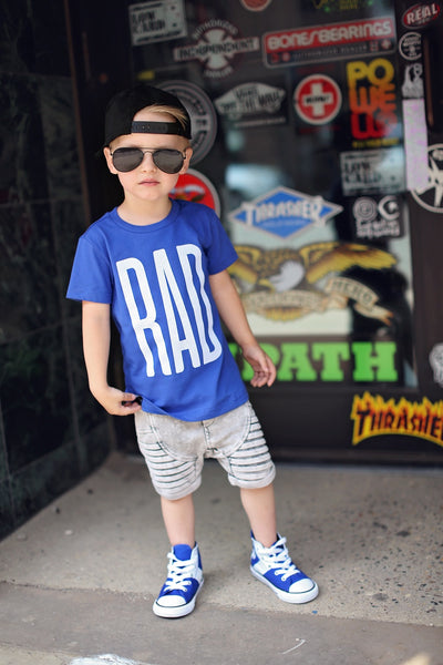 RAD UNISEX KIDS T SHIRT | Raxtin Clothing Co - Love Sick Threads
