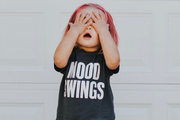 MOOD SWINGS UNISEX KIDS TEE | Raxtin Clothing Co. - Love Sick Threads