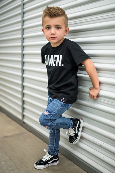 KIDS BLUE RAXTIN DISTRESSED DENIM | Raxtin Clothing Co - Love Sick Threads