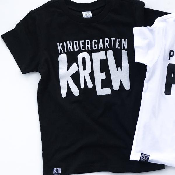 KINDERGARTEN KREW UNISEX KIDS T SHIRT | Raxtin Clothing Co - Love Sick Threads