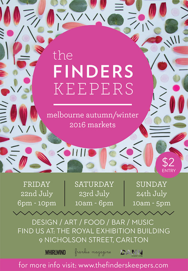We're at Melbourne Finders Keepers AW16