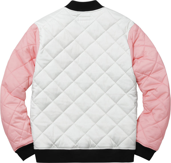 Supreme Color Blocked Quilted Jacket - The Sole Angel