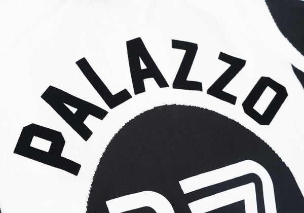 Palace Palazzo Knit White/Black - The Sole Angel