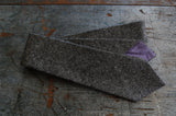 Grey Tweed Wool Neck Tie