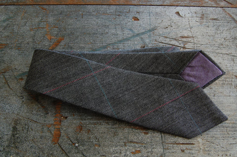 Black Striped Neck Tie