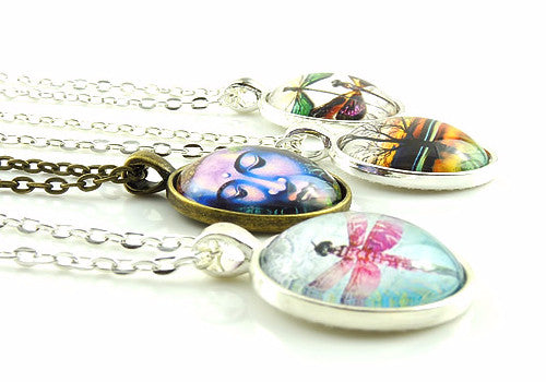 Cabochon Necklaces