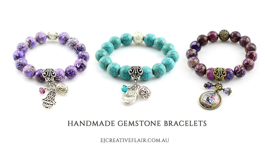Welcome to EJ Creative Flair - Handmade Gemstone Bracelets