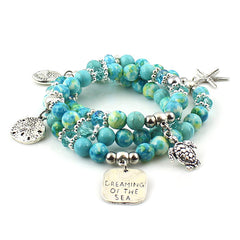 Aquamarine Dreaming of the Sea Bracelet