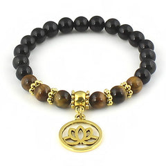 Golden Lotus Flower Bracelet