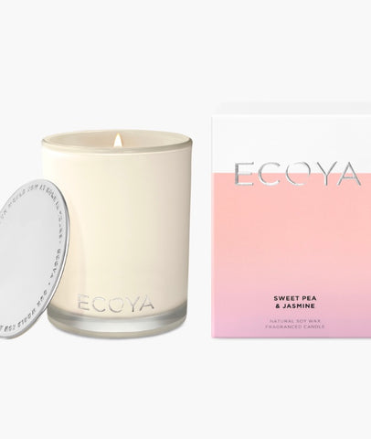 Ecoya Madison Candle - Sweet Pea & Jasmine