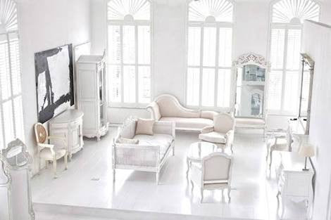 Design Wednesdays - More Contemporary rooms, classic furniture - Theme Blanc