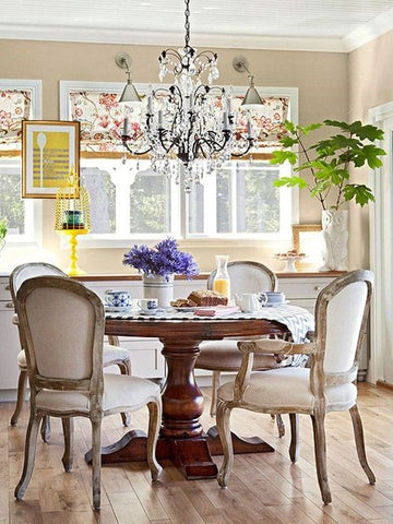 Chic dining room, modern, classic, french decor ideas
