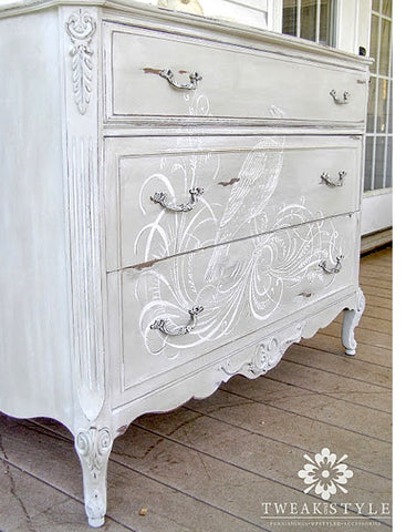 White French Commode