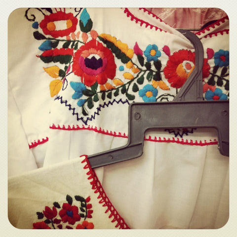Embroidered Mexican Shopping, Gander, Luxury Vacation