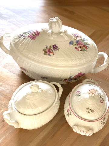 Tureen porcelain luxury richard ginori