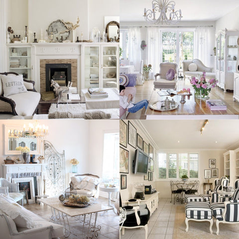 contemporary rooms white light modern setting and french decor