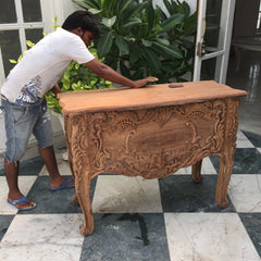 hand painting commode  luxury furniture