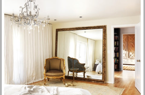 super big mirror beautiful classic luxurious room interiors.