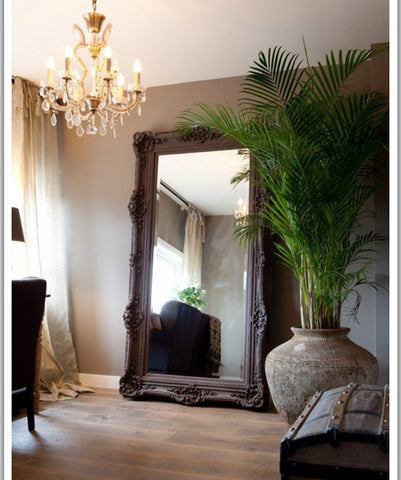 Oversized mirror frame. Baroque
