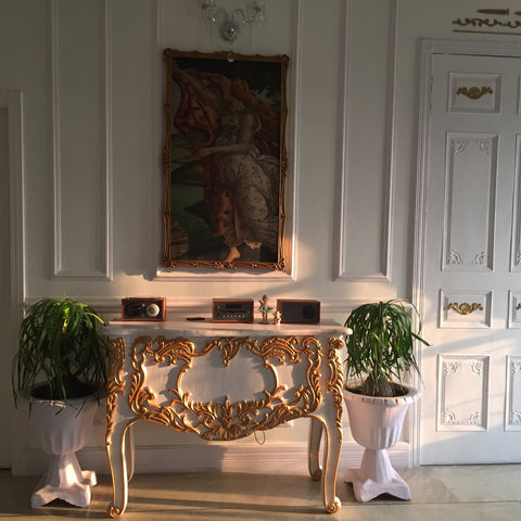 custom designed commode beautiful interiors