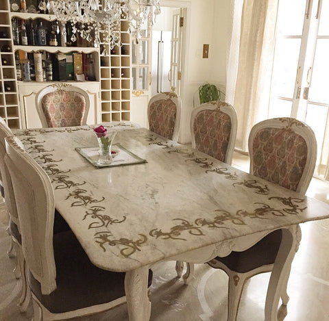 custom designed dinning table beautiful interiors