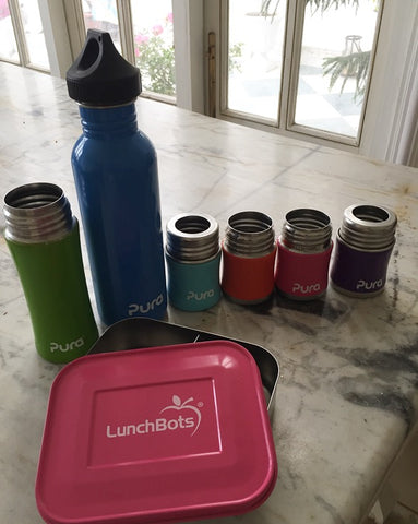 pura, lunchbots, lunchbox, tin,reusable, ecofriendly